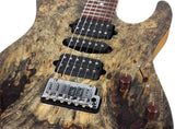 Suhr Modern Natural Buckeye Burl Maple, Swamp Ash Body