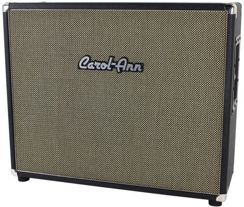 Carol-Ann 2x12 Cabinet in Black - Humbucker Music