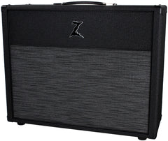 Dr. Z 2x12 Open Back Cab, Black, ZW Grille