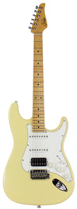 Suhr Classic S Antique Guitar, Vintage Yellow, Maple, HSS