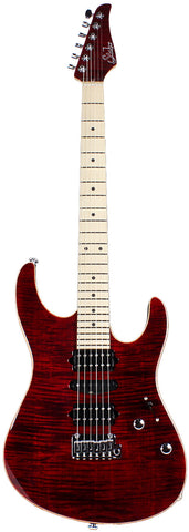 Suhr Modern Pro Guitar, Chili Pepper Red, Maple, HSH