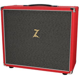 Dr. Z 2x10 Speaker Cab - Red w/ Salt & Pepper Grill