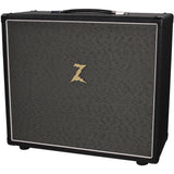 Dr. Z 2x10 Speaker Cab - Black w/ Salt & Pepper Grill