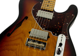 Suhr Alt T Pro Guitar - 3 Tone Burst - Slight Damage