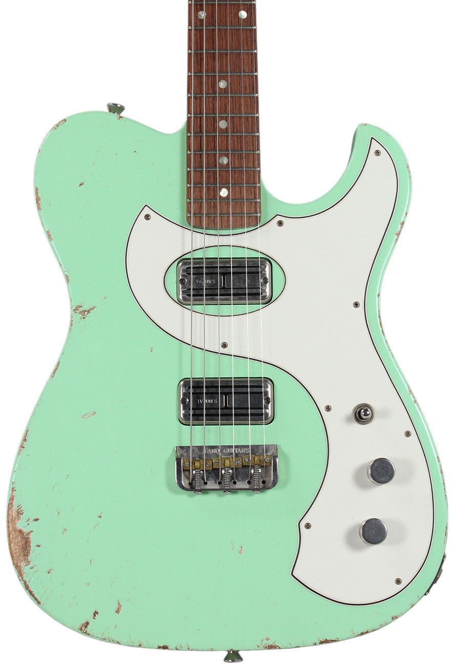 fano tc6 guitar in surf green humbucker music. Black Bedroom Furniture Sets. Home Design Ideas