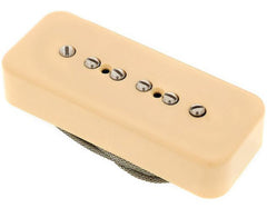 Lollar P-90 Soap Bar Pickup, Bridge, Matte Cream