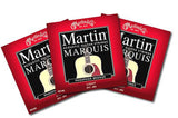 Martin Marquis Acoustic Light Strings - .010 - .054 - 3 Sets