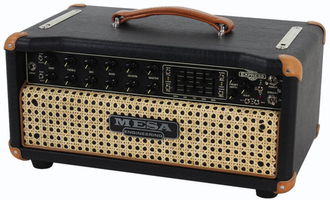 Mesa Boogie Express Plus 5:25 Head - Black & Wicker