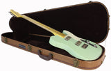 Nash GF-2 Gold Foil Guitar, Surf Green