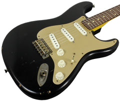Nash S-63 Guitar, Black, Anodized Gold