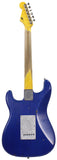 Nash S-63 Guitar, One Piece Swamp Ash, Trans Blue Azure