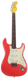 Nash S-63 Guitar, Fiesta Red, Light Aging