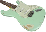 Nash S-63 Guitar, Surf Green, Medium Aging