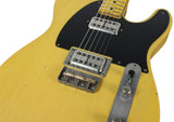 Nash T-2HB Guitar, Butterscotch Blonde, Lollartrons, Medium Aging