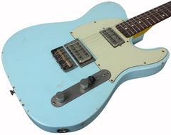 Nash T-2HB Guitar, Sonic Blue, Lollartrons