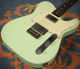 Nash T-2HB Guitar, Surf Green, Lollartrons