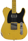 Nash T-52 Guitar, Butterscotch Blonde, Lollartron, Medium Aging