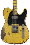Nash T-52 Guitar, Butterscotch Blonde, Humbucker - Humbucker Music