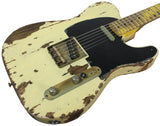 Nash T-52 Guitar, Mary Kaye White, Extra-Heavy Aging
