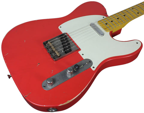 Nash T-57 Guitar, Fiesta Red