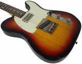 Nash T-63 Guitar, 3 Tone Sunburst, LollarTron