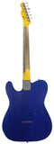 Nash T-63 Guitar, Trans Blue Azure, One Piece Ash