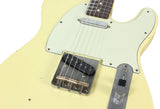 Nash T-63 Guitar, Vintage White, Light Aging