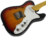Nash T-69 Thin Line Guitar, 3 Tone Sunburst