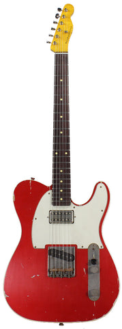 Nash TC-63 Guitar, Candy Apple Red, Lollartron