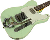 Nash TC-63 Guitar, Surf Green, Bigsby