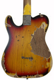 Nash TC-63 Guitar, 3-Tone Burst, Humbucker