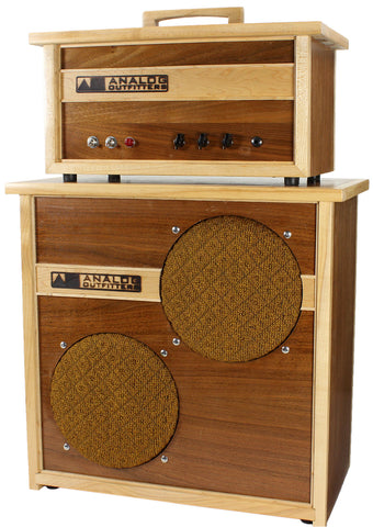 Analog Outfitters Organic 15 Head and 2x10 Cab - Humbucker Music