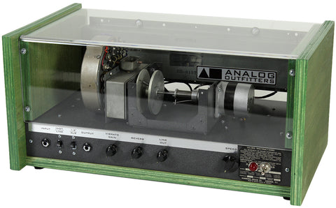 Analog Outfitters The Scanner Vibrator Reverb - Mint Green - Humbucker Music