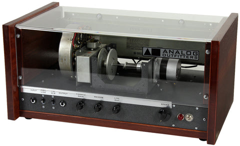 Analog Outfitters The Scanner Vibrator Reverb - Burgundy #2
