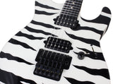 Suhr 80s Shred Guitar - Tiger Stripe - Ebony