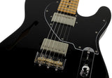 Suhr Alt T Pro Guitar, Maple, Black