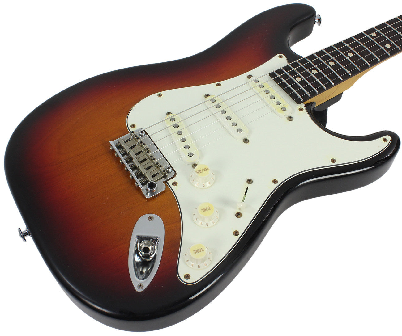 Suhr Classic Antique Guitar - 3 Tone Burst, Rosewood Neck, SSS ...
