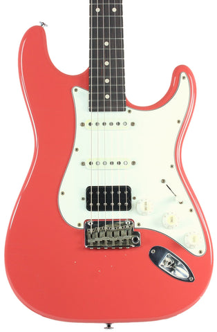 Suhr Classic Antique Guitar, Fiesta Red, Rosewood, HSS