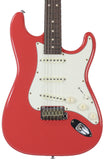 Suhr Classic Antique Guitar, Fiesta Red, Rosewood, SSS