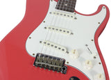 Suhr Classic Antique Guitar - Fiesta Red, SSS