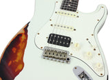 Suhr Classic Antique Pro HSS Limited - Olympic White over 3-Tone Sunburst