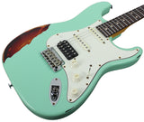 Suhr Classic Antique Pro HSS Limited - Surf Green over 3-Tone Sunburst