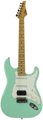 Suhr Classic S HSS Guitar, Surf Green, Maple