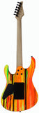 Suhr 80s Shred MKII Modern Guitar, Neon Drip, Maple