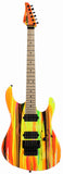 Suhr 80s Shred MKII Modern Guitar - Neon Drip - Maple