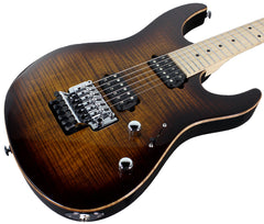 Suhr Modern Pro Guitar, Bengal Burst, Maple, HH, Floyd Rose