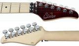 Suhr Modern Pro Guitar, Chili Pepper Red, Maple, Floyd, HH