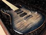 Suhr Modern Pro Guitar, Faded Trans Whale Blue Burst, Maple, HSH