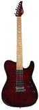 John Suhr Signature Select Modern T - Flamed Maple, Chili Pepper Red