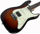 Suhr Throwback Standard Pro Guitar, Three Tone Sunburst, Rosewood